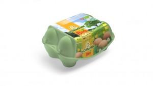 Hörmann Eier aus Bio-Haltung, Gew.kl. M-L, Gütekl. A – 6er