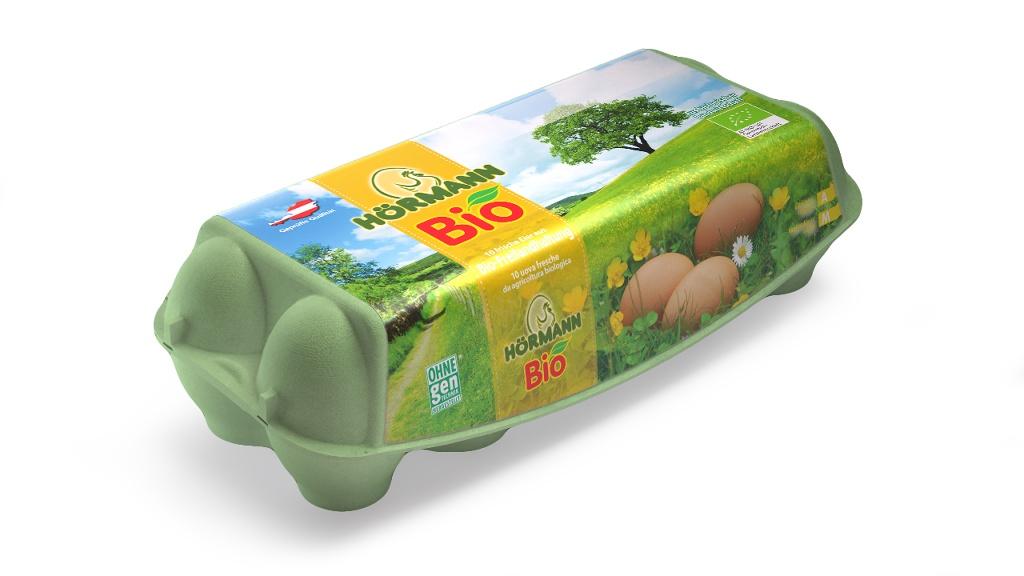 Hörmann Eier aus Bio-Freilandhaltung, Gew.kl. M, Gütekl. A – 10er