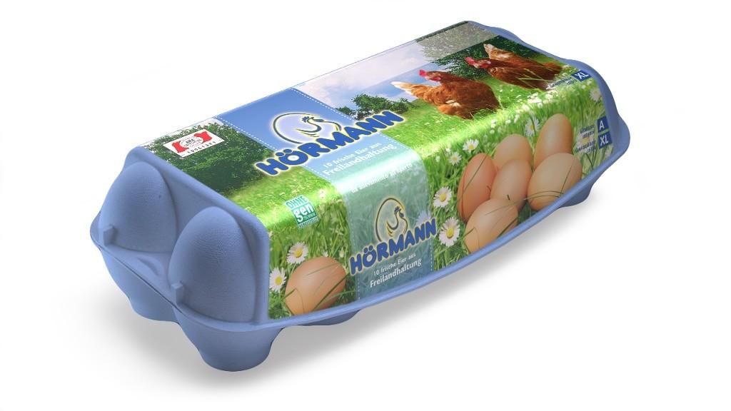 10 Frische Eier aus Freilandhaltung, Größe XL