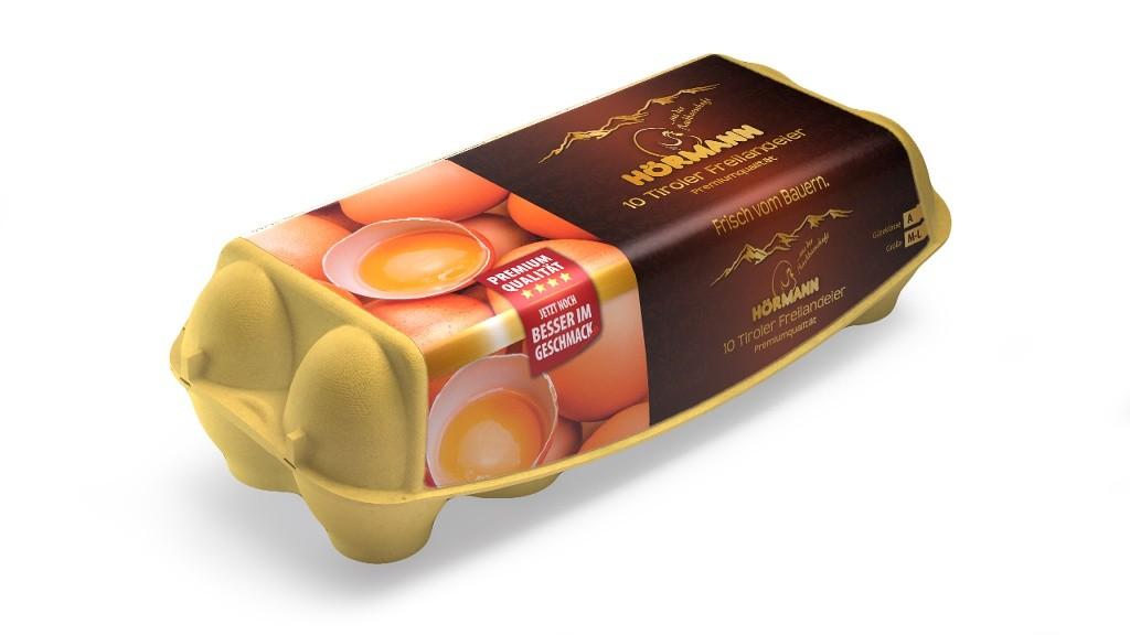 10 frische Eier aus Freilandhaltung, Premiumqualität, Größe M-L