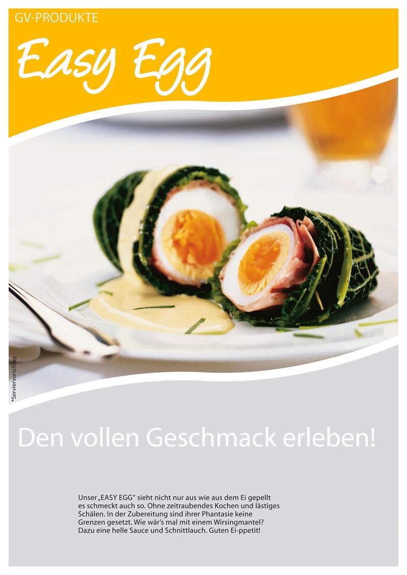 Easy Egg - fertig gekochte und geschälte Eier