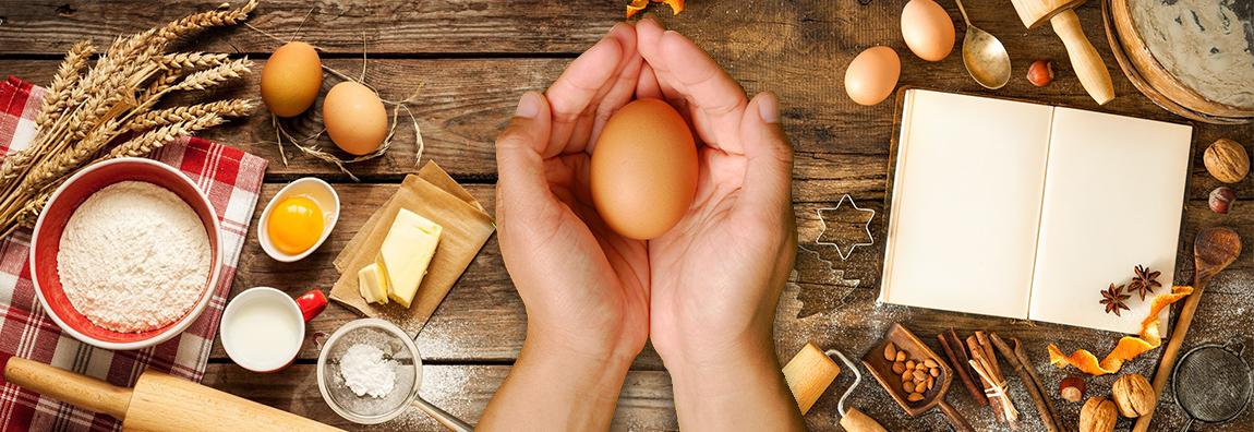 Eier sind eine wichtige Zutat beim Kochen und Backen