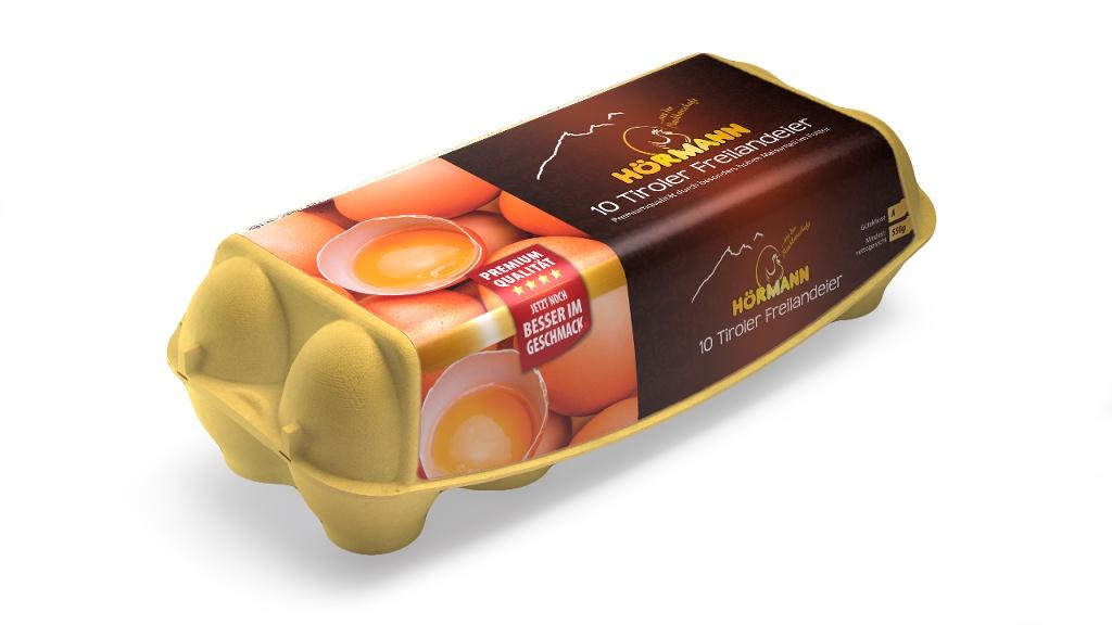 Hörmann Eier aus Premium-Freilandhaltung, Gew.kl. M/L, Gütekl. A – 10er